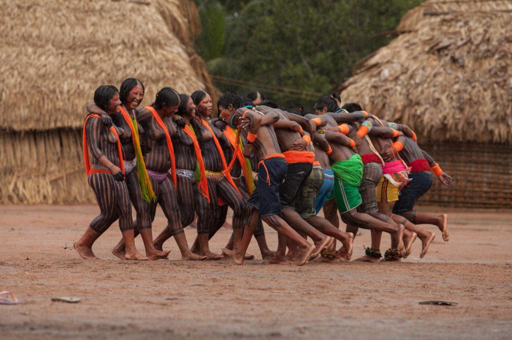 Aldeia Kendjam, T.I.Kayapó. (Foto: Simone Giovine)
